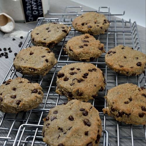 Galletas sin gluten (con gotas de chocolate)