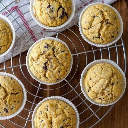Muffins banana e latte di cocco