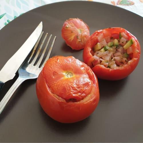 Pomodori ripieni di verdure al forno