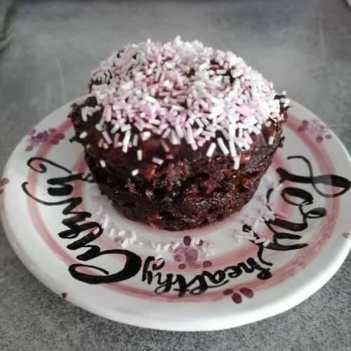 Muffin vegano al horno