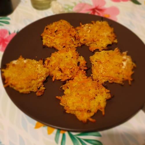 Rosti light al forno di patate e zucca