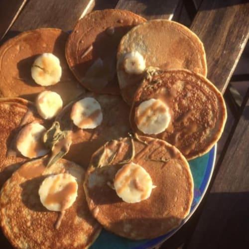 Pancakes senza zucchero e latte
