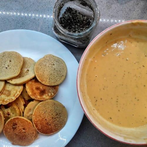Chickpea flour muffins