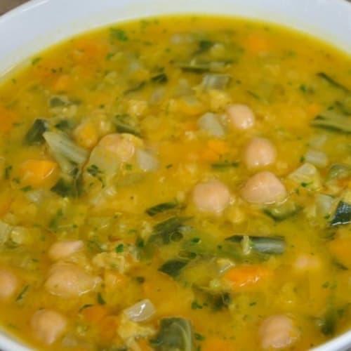 Soup autumn colors
