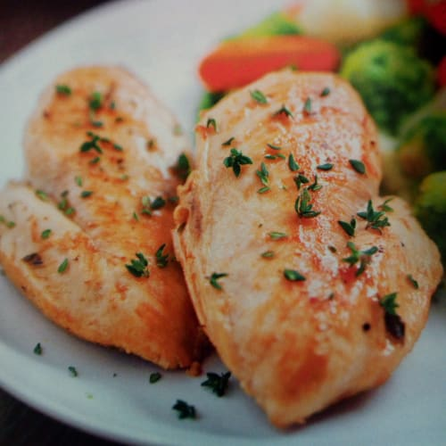Aromatic chicken breast