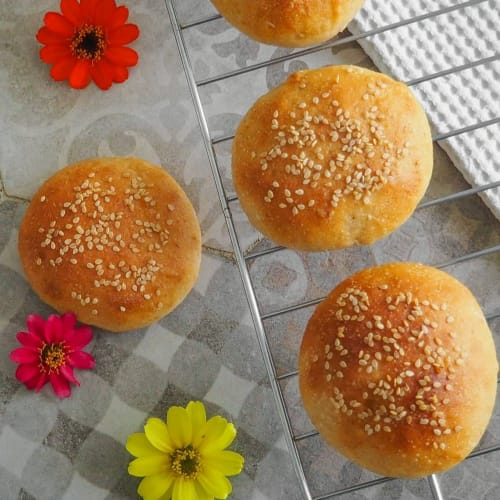 Homemade Hamburger Sandwiches