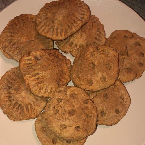 Galletas de mantequilla de maní y canela