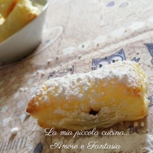 Mini Pasta De Hojaldre Con Nutella