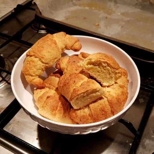 Croissant con poco burro senza lattosio