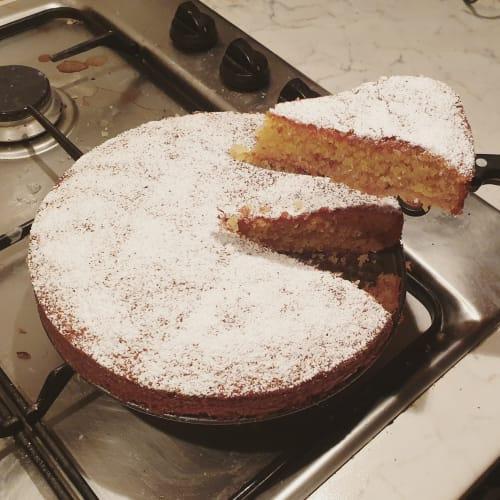 Torta morbida cocco e cioccolato