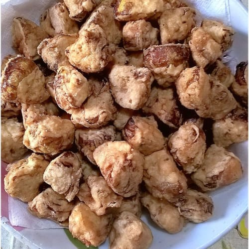 Alcachofas fritas en masa