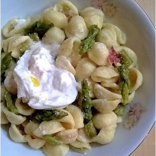 Orecchiette Asparagi E Burrata