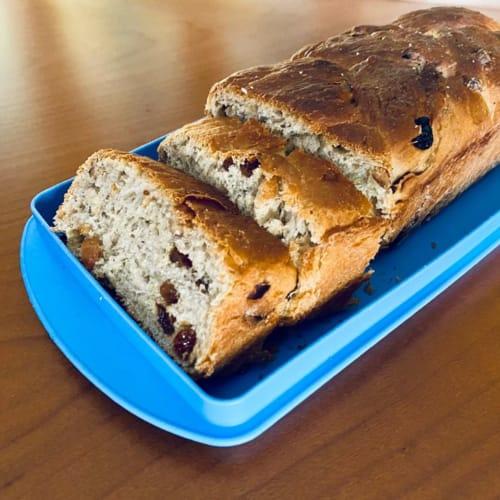 Pan brioche vegano muy suave