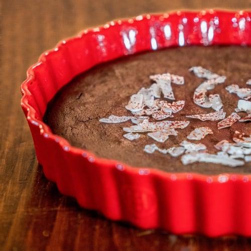 Torta di Mandorle gusto Cioccolato e Caffè a Basso Indice Glicemico