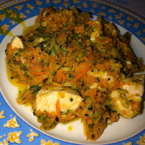 Pollo ligero con verduras