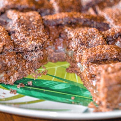 Tarta de chocolate y pera de bajo índice glucémico