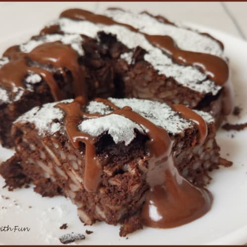 Torta Proteica di Riso al Cioccolato