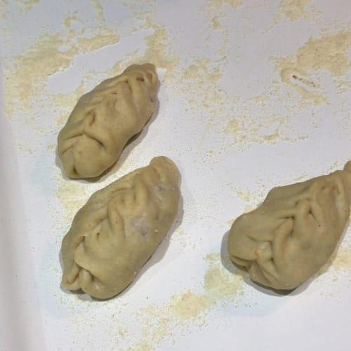 Grilled ravioli