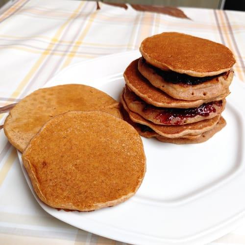 Tortitas de proteínas veganas