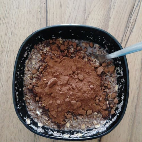 Gachas de chocolate