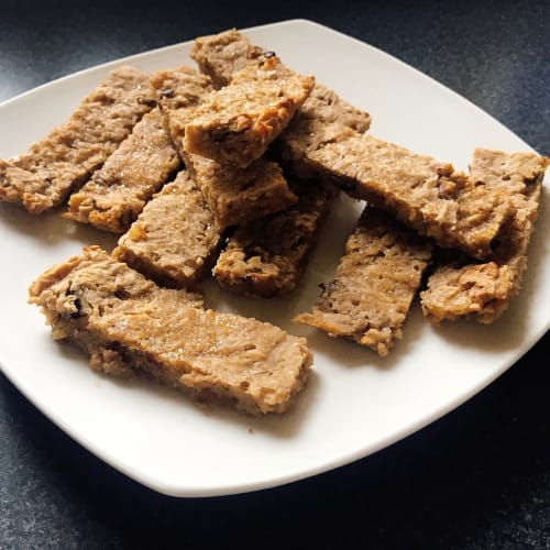 Nutritious oat bars