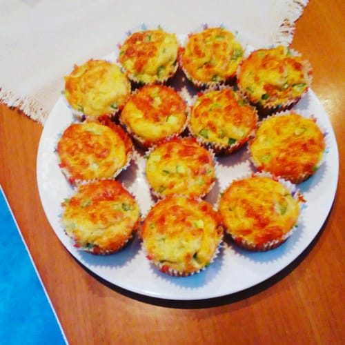 Salted muffins