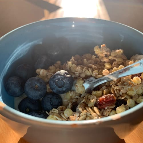 Yogurt e Muesli