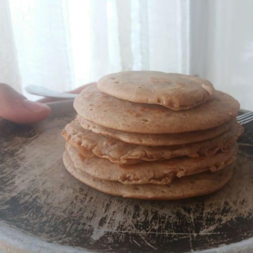 Mini pancake vegani senza zucchero