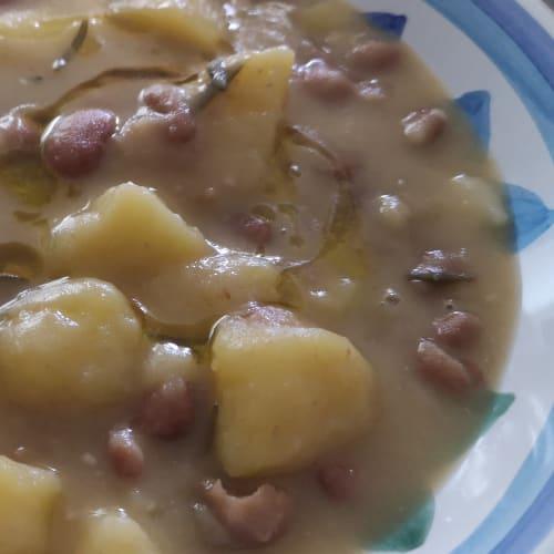 Zuppa fagioli e patate