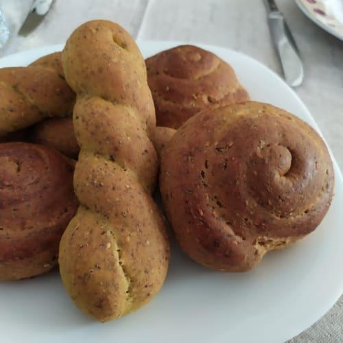 Pane proteico a lunga lievitazione