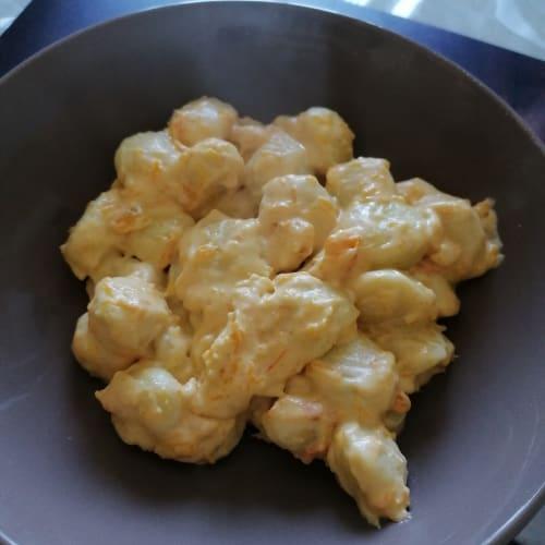 Gnocchi Philadelphia, zucca e formaggio