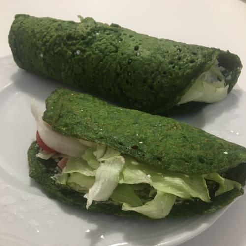 Crêpes di spinaci