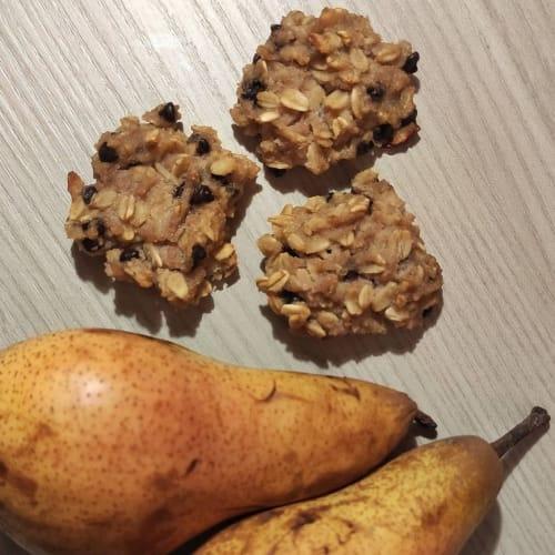 Cookies pera e avena