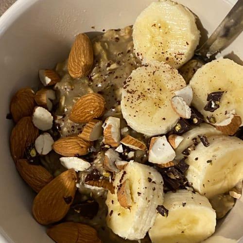 Porridge al caffè