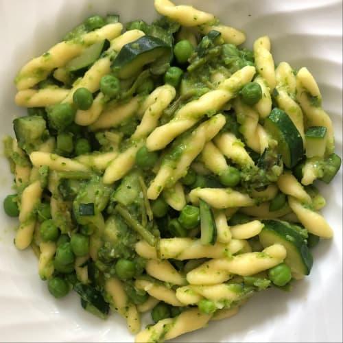 Pasta verde asparago