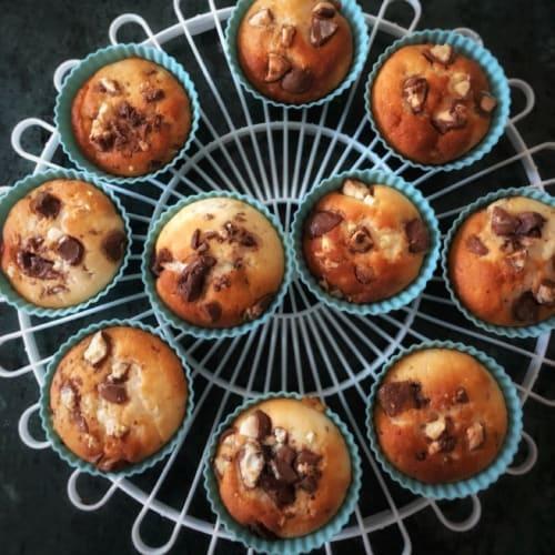 Muffin agli albumi senza glutine