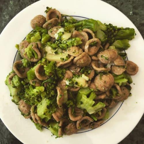 Orecchiette broccoli e asiago