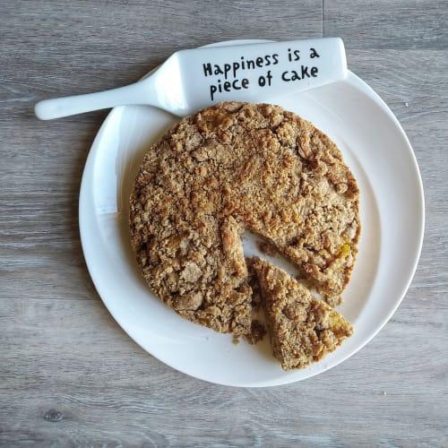 Torta Crumble con composta di mele Light E Veloce!