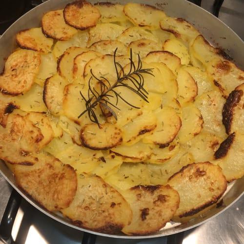 Deliziosa rosa di patate