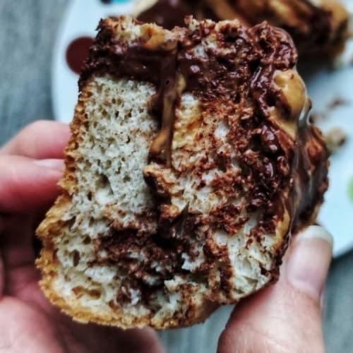 Pancake Basic Al Cioccolato E Burro Di Arachidi