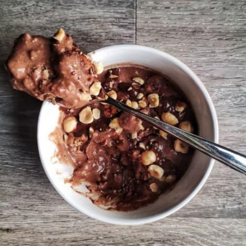 Porridge Proteico Al Cacao E Biscotti