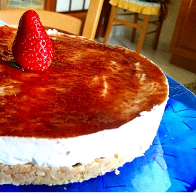 Cheesecake di fragole