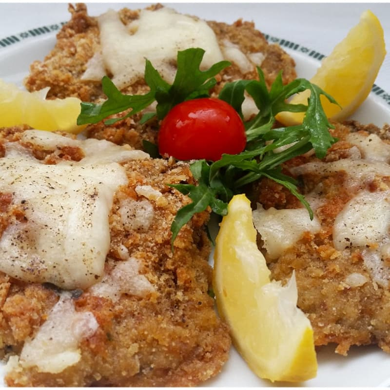 Cutlet with mushrooms