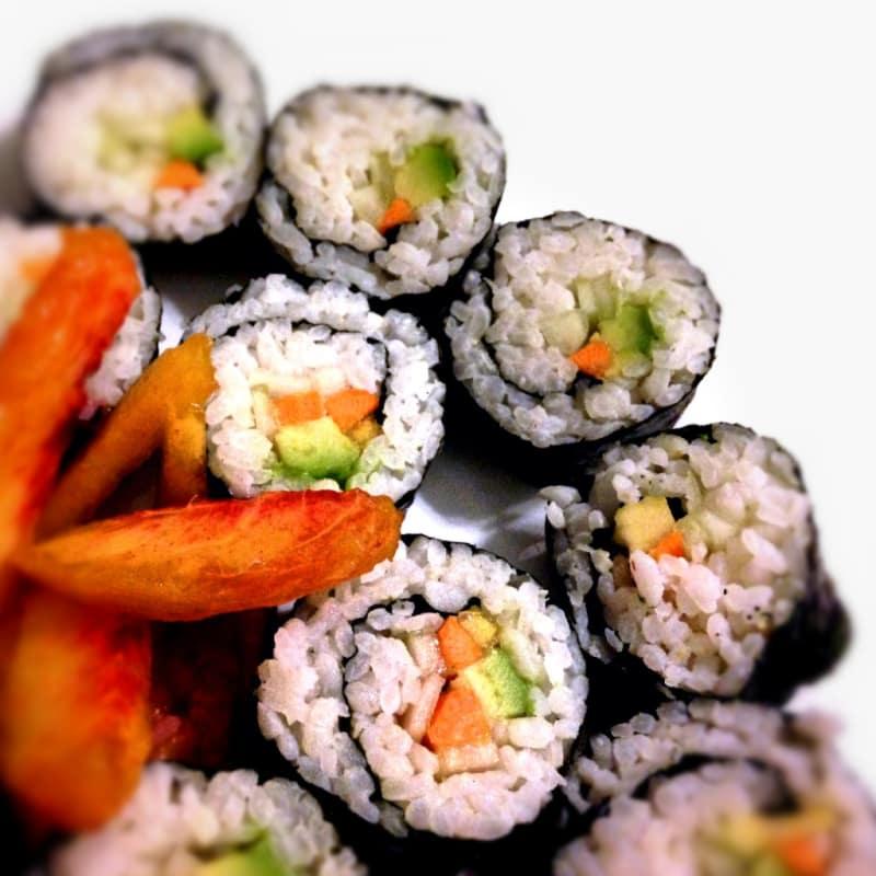 sushi veggy