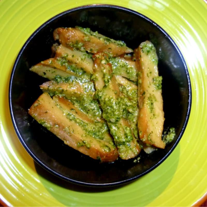 Seitan Genovese without garlic