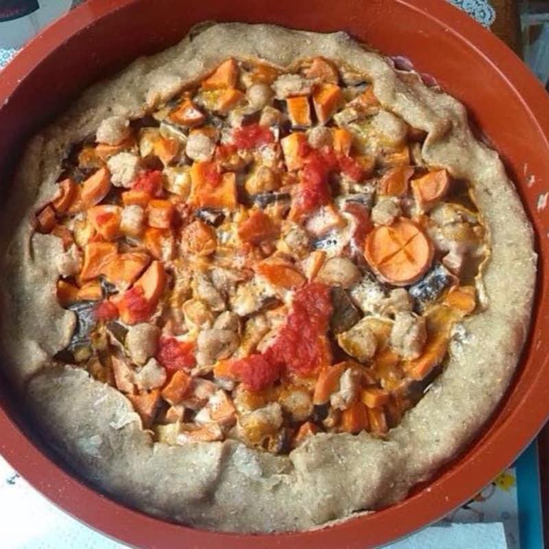 Torta salata matta