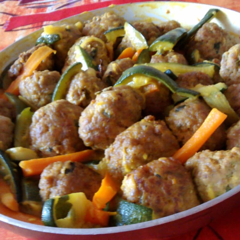 spicy Meatballs
