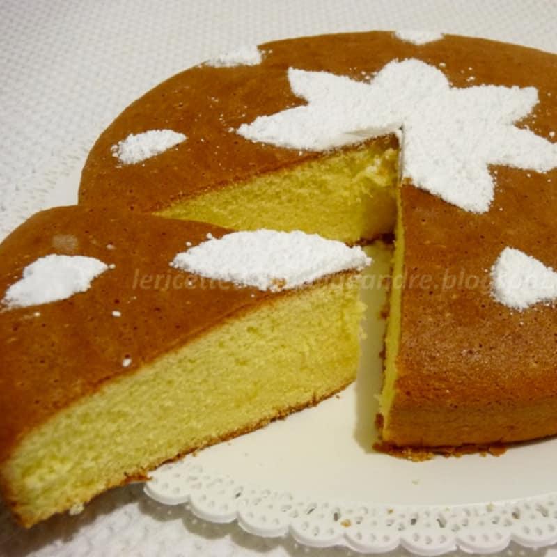 Torta margherita al limone senza glutine