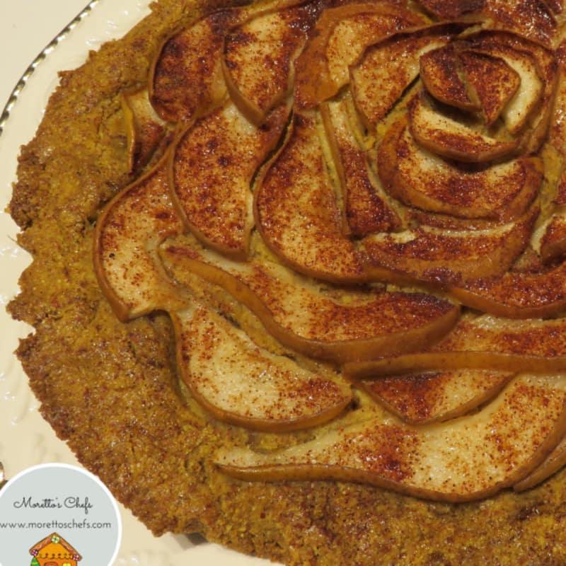 pera tarta con maíz pastelería