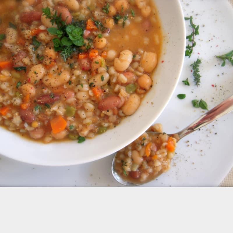 Zuppa ai sapori d'autunno